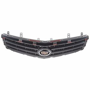 Oem New Front Bumper Upper Grille Black Chrome 13 14 Cadillac Ats 22976333