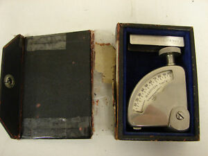 Vintage Shore Instrument a Durometer Rubber Hardness