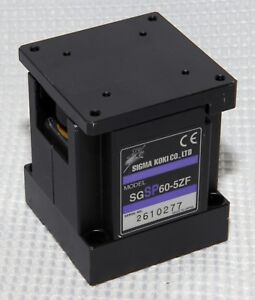 Sigma Koki Z Axis 5mm Vertical Travel High Precision Miniature Stage Step Motor