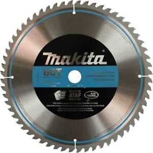 Makita A 93712 12 X 60 Tooth quiet Carbide Circular Saw Blade New