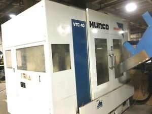 Hurco Vtc 40 Vertical Machining Center