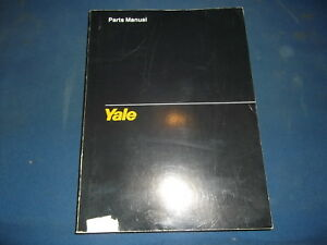 Yale Gc Glc 030 Bf Forklift Lift Truck Parts Manual Book Catalog 1616