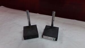 Platco Granite Surface Plate 6 X 6 X 2 1 8 With 8 Column