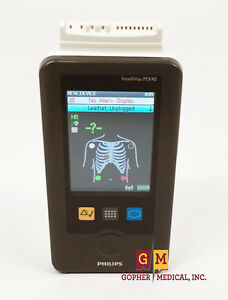 Philips Intellivue Mx40 Wearable Portable Patient Monitor Telepak Ecg Warranty