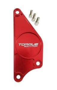 Torque Solution Billet Cam Plate Red Fits Subaru Brz Scion Fr S 2013