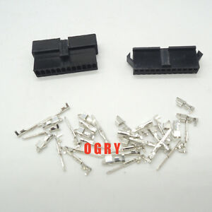 Sm 12p Sm 12r Sm2 54 100set Connector Sm 12pin Female And Male Housing Terminals