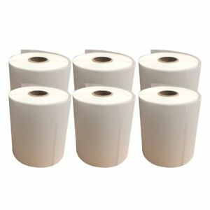4x6 Direct Thermal Self Adhesive Shipping Label Zebra 2844 250 roll 10 Rolls