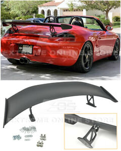 For 13 16 Porsche 981 Cayman Boxster Gt4 Style Rear Trunk Lid Wing Spoiler