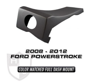 H S Oem Color Matched Dash Mount Black Maxx Mini Maxx 08 12 Ford Powerstroke