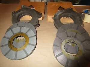 Oliver Tractors55 550 66 s66 660 Brand New 2 brake Actuating 4 disc N o s