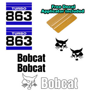 Bobcat 863 In Stock | JM Builder Supply and Equipment Resources
