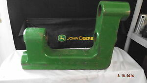 John Deere N242688 Walking Beam Flex Wing Rotary Cutter ripper Disk tiller mulch