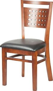 New Commercial Mahogany Frame Solid Wood Seating Restaurant Furniture 06259sw