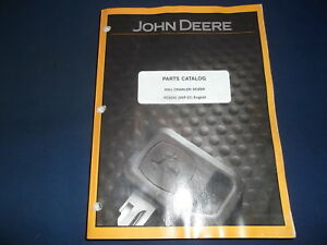 John Deere 950j Crwler Tractor Dozer Parts Manual Book Catalog Pc9550