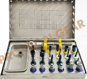 25 Pc Bone Expander Sinus Lift Kit Dental Implant Surgical Instrument Sterile