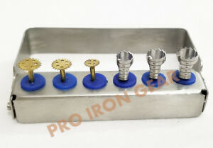 Dental Implant Surgery Instrument Saw trephine Bur Mini Kit