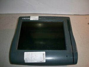 Micros Workstation 4 400614 001 System Unit W touch Screen With Clear Screen