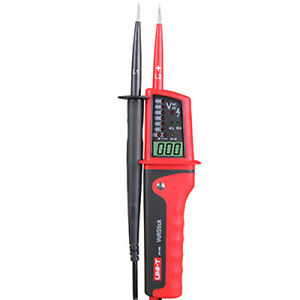Uni t Ut15c Voltage Tester Led Lcd Display Continuity Pen Meters Tester