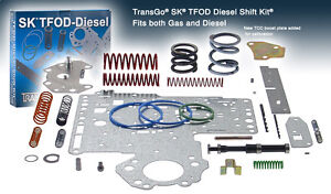 Dodge Ram Truck 46re 47re Transgo Performance Shift Kit W plate sktfod diesel