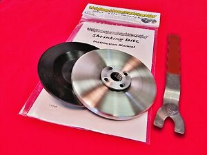 4 5 easy Shrink Shrinking Disc Kit Wrench 4 1 2 Grinder Shrinker Tool