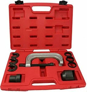 Upper Control Arm Bushing Remover Install Forged C Frame Service Tool Set 9pc