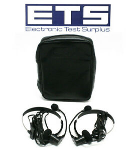 Ideal 3010 70 0015 Headset Pair With Case For Lantek 6 6a 7 7g