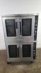 Hobart Dgc1 Double Stack Convection Oven Natural Gas Tested 115v