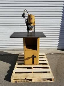 Challenge Paper Drilling Machine Style Jf Part 30069 Nice Condition Clean Works