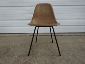 Vintage 50s Mid Century Modern Herman Miller Eames Dsx Shell Chair 1950s X Base
