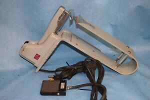 Rare Vintage Swingline Model 15e 4 Electric Booklet Saddle Stapler W Foot Pedal