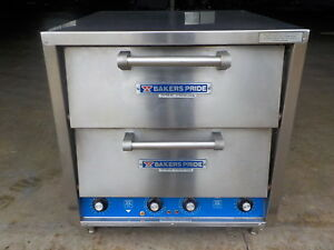 Bakers Pride Dp 2 Electric Countertop Pizza Double Oven 208v 1 Phase 5050w