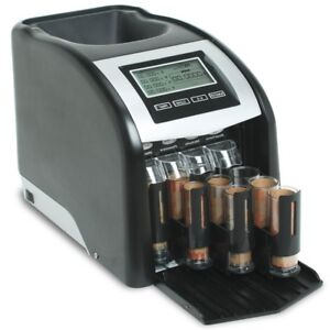 Royal Sovereign Automatic Coin Counter And Sorter Machine Digital Electronic New