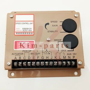New Engine Speed Controller Governor Esd5131 For Cummins Generator Parts