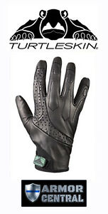 New Turtleskin Delta Cut Hypodermic Needle Tactical Gloves Law Enforcement