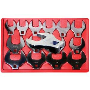V8 Tools 7814 14 Piece 1 2 In Drive Crowfoot Wrench Set