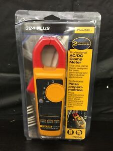 Fluke 324 Plus 600v Professional Ac dc True Rms Clamp Meter