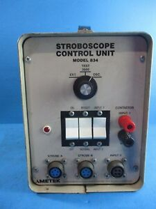 Power Instruments Stroboscope Control Unit 834 Used