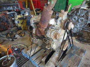 Perkins 1004 40t Diesel Engine Runs Exc Jcb Backhoe Ab Video Turbo 4 0