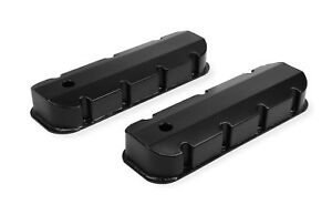 Mr Gasket 6832bg Fabricated Aluminum Valve Cover Chevy Big Block Black F