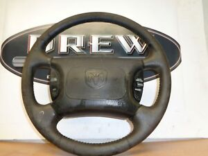 Steering Wheel Dodge Ram Pickup Truck 1500 00