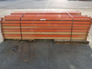 Interlake Style Pallet Rack Cross Beams 96 Lot Of 62