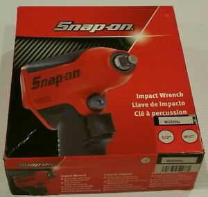 Snap On 1 2 Impact Wrench Model Mg3255j