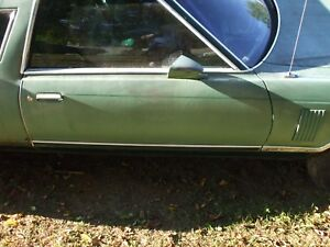 1977 1978 1979 Ford Thunderbird Passenger Right Side Door With Power Window