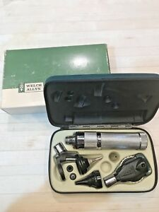 Welch Allyn 25070 Diagnostic Kit Otoscope Ophthalmoscope