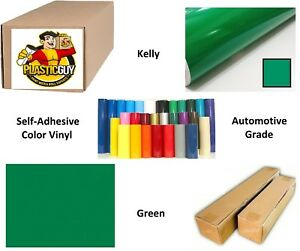 Kelly Green Self adhesive Sign Vinyl 24 X 165 Ft Or 55 Yd 1 Roll