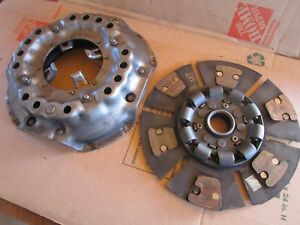 Oliver Tractor1850 1855 1950t 1955 2050 13 Heavy Duty Clutch And Pressure Plate