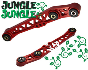 Lower Control Arm Lca Red For 88 95 Honda Civic 90 01 Acura Integra