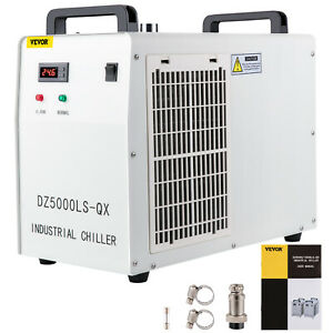 Industrial Water Chiller Cool Single 80w 100w Co2 Laser Tube Cw 5000dg 110v 60hz