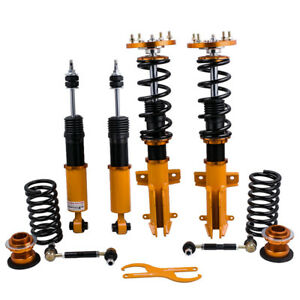 Racing Coilovers Kits For 05 14 Ford Mustang Adjustable Height Amp Dampers