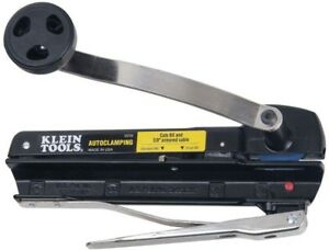 Cuts 3 8 In Flexible Conduit Klein Tools Bx And Armored Cable Cutter